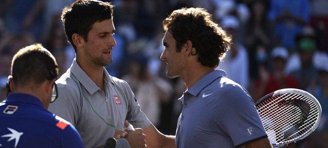 """Ѓоковиќ и Федерер заедно во двојки на """"Лејвер Купот"""""""