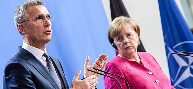 Меркел, Столтенберг и Курц неделава во Скопје