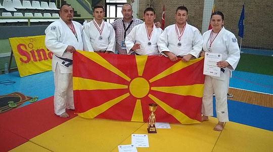 """Џудо клубот """"Сеишин"""" од Прилеп освои сребрен медал на Балканското првенство"""