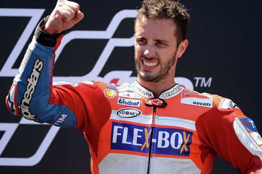 Довициозо победи на трката во Сан Марино
