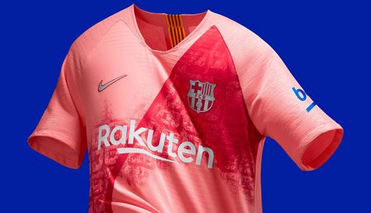 Барселона го претстави розовиот дрес