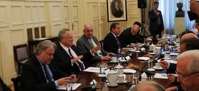 Состанок во грчкото МНР за формирање Совет за национална безбедност
