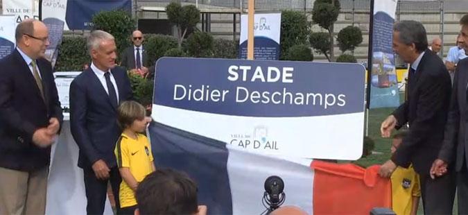 Стадион во Монако преименуван во чест на Дидие Дешам