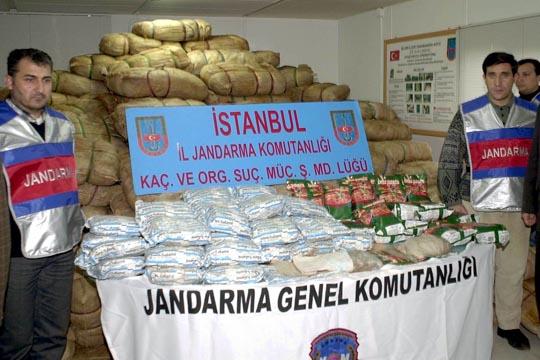 Седум тони хашиш запленети од курдски герилци во Турција