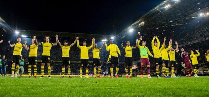 """Борусија Дортмунд на чело на Бундеслигата, Алкасер ја """"отвори"""" сметката"""