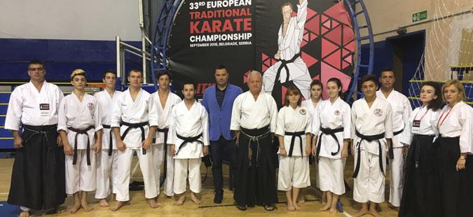 Десет медали за Македонија на ЕП во традиционално карате