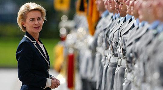 Германската министерка за одбрана Урсула фон дер Лаин во Македонија
