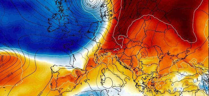 Бран студен арктички воздух ја зафаќа Европа