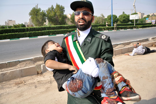 Иранските служби апсат соработници на терористите од Ахваз