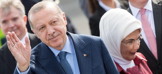 Реџеп Тајип Ердоган пристигна во посета на Германија