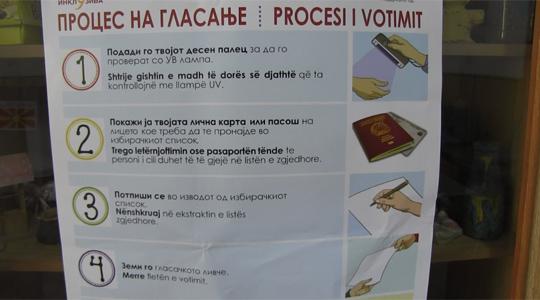 Во Малешевијата до девет часот 686 граѓани гласале на референдумот