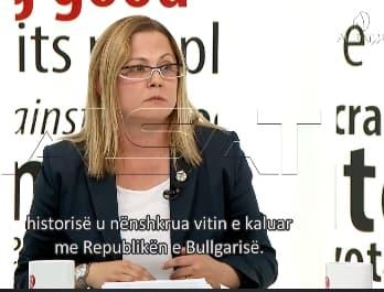 Стојаноска: ВМРО-ДПМНЕ работи и се залага за влез во ЕУ и НАТО, но не е за договорот со Грција