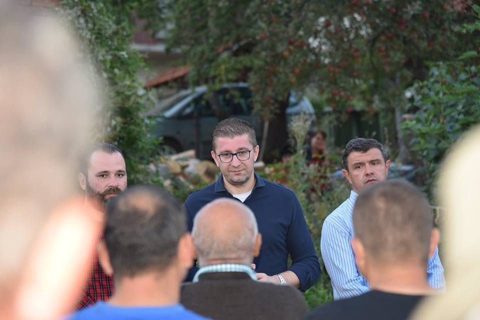 Мицкоски од Пехчево: Заев донесе капитулантски договор со кој сака да се добие понижена Македонија- ветуваа живот, сега ветуваат иднина, ниту граѓаните живот добија, ниту иднина ќе дојде