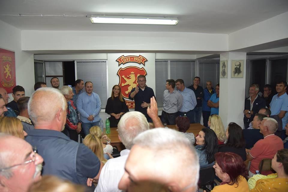 Мицкоски од Делчево: На маса е документ со кој Заев сака понижена Македонија и со кој губиме се што за нас е важно- не смееме да потклекнеме на лагите на власта