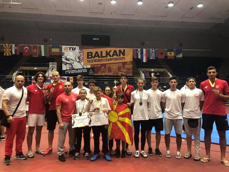 Седум медали за Теквондо клубот Бутел на Балканското првенство