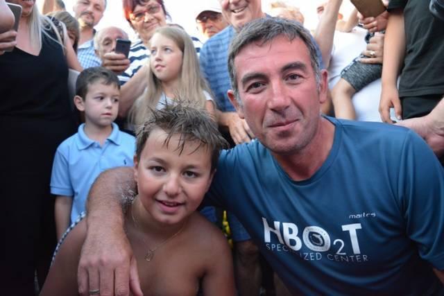 Таткото на херојот Марко казнет со 300 евра