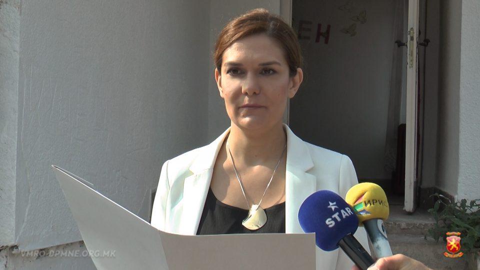 Серафимовска: СДСМ во Штип врши политички реваншизам, се прераспоредуваат вработени во детски градинки