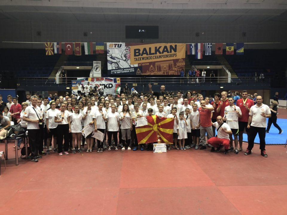 Македонското таеквондо е респектабилна сила на Балканот