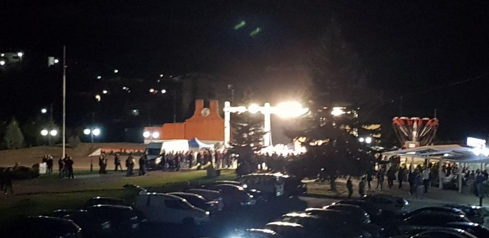 ФОТО: Дебакл на трибината на СДСМ во Делчево