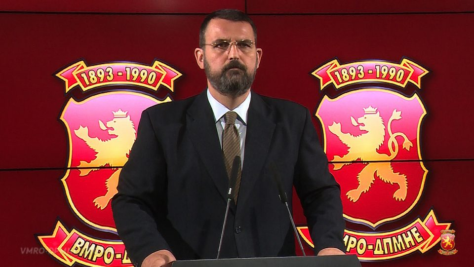Стоилковски: Заев е непријател на Република Македонија, а не народот