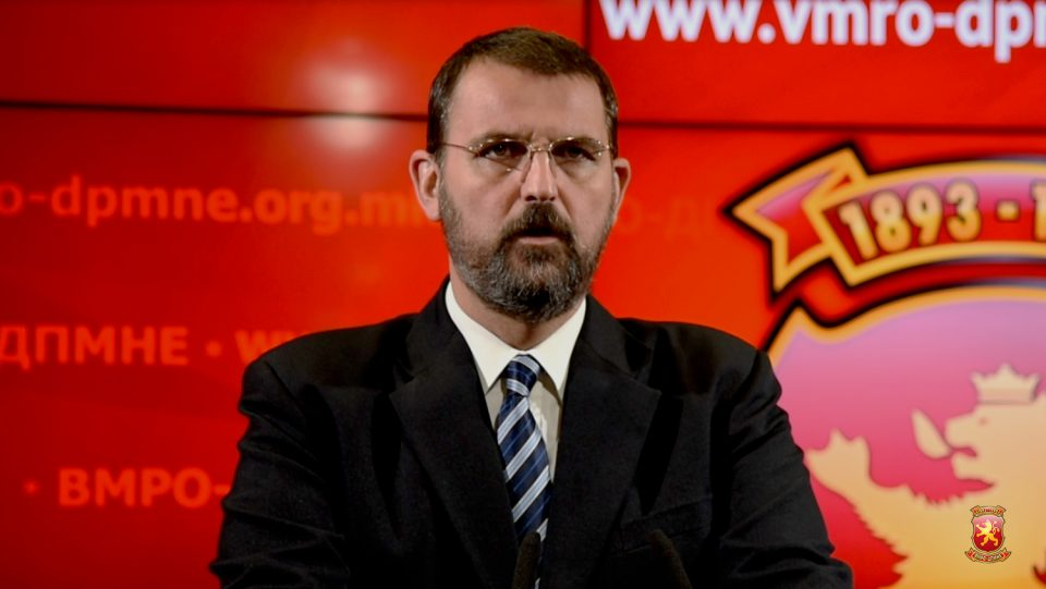 Стоилковски: Владата префрлила 80 милиони денари, буџетски пари за лажно партиско рекламирање