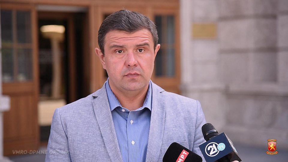 Мицевски: МФ престана да функционира како државна каса и се претвори во благајна за финансирање на потребите на Заев и криминалниот картел околу него