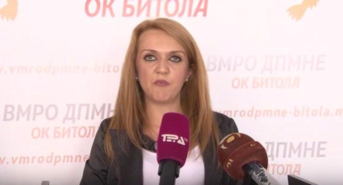 Стефановска Јовчева: Наместо да пропагира образование во ЕУ, градоначалничката Петровска да се зафати со решавање на реалните проблеми во образованието во општина Битола