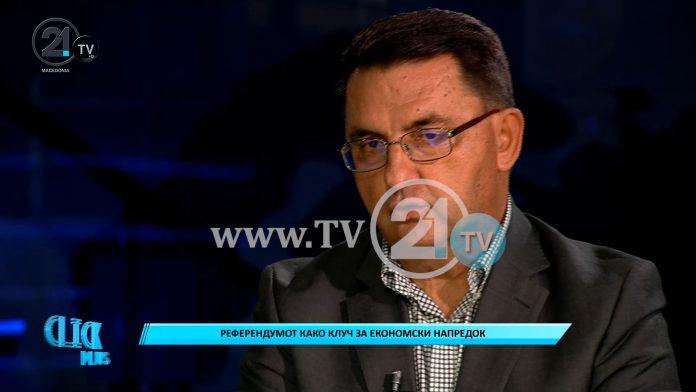 Славески: Преспанскиот договор е капитулантски – ние треба да создаваме сега Северномакедонци