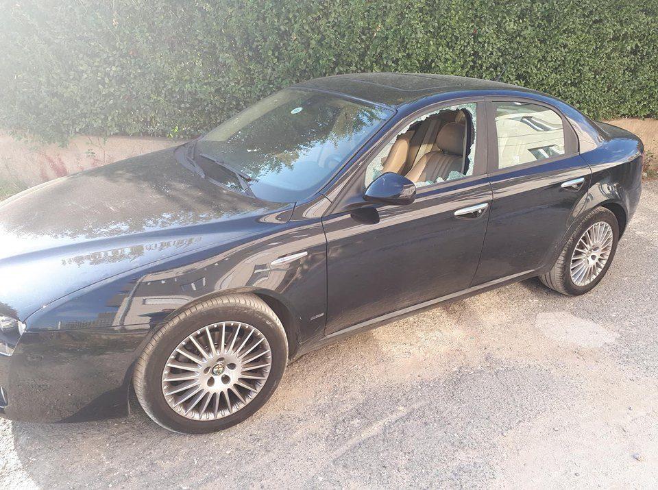 ФОТО: Демолиран автомобилот на советникот во Град Скопје, Трајановски
