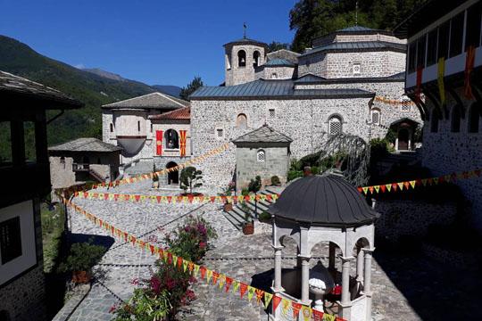 Бигорски манастир го одбележува патронот