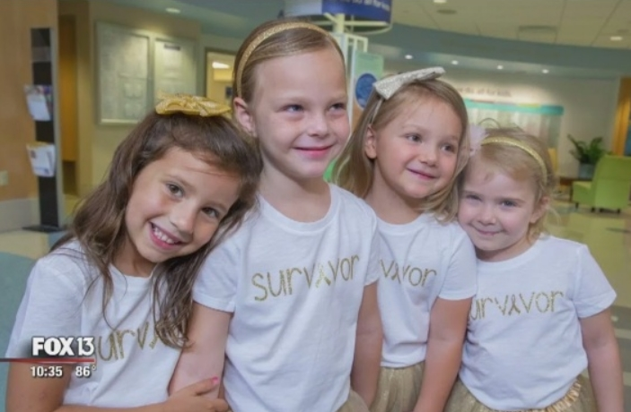 Мали девојчиња, а големи херои: Овие четири ангелчиња го победија ракот (ФОТО+ВИДЕО)