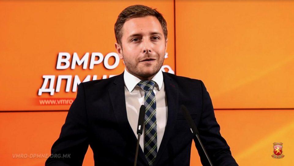 Арсовски: Димитров ја почести ќерката со 40.000 евра државни пари