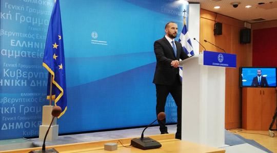 Ѕанакопулос: Му посакуваме успех на господинот Заев и го очекуваме резултатот