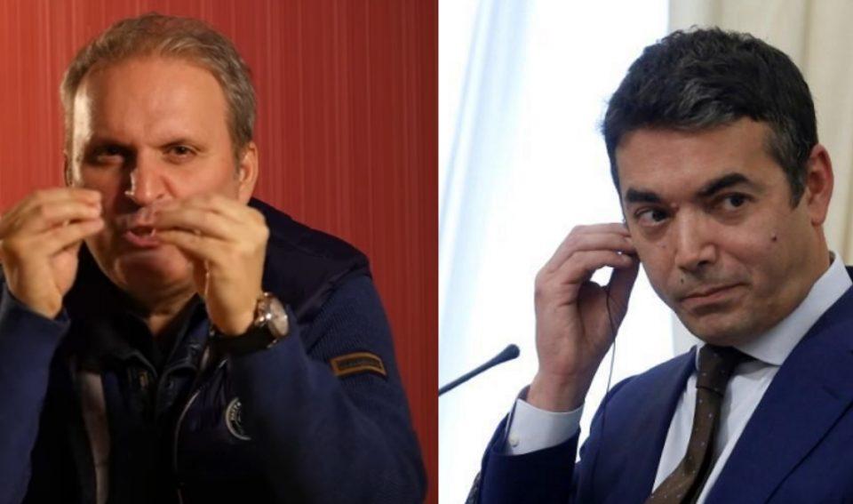 Ефтов: Прво некој во 2015-та ви остава бомби пред вратата, потоа ви остава договор за Северна Македонија