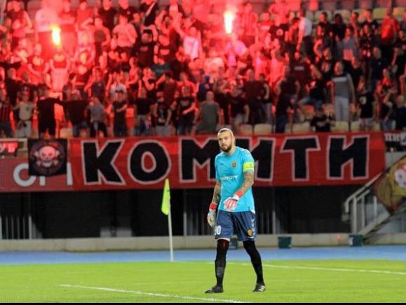 Голманот на Вардар распали по Висар Муслиу: Не ми се верува дека фудбалер како тебе ги брани боите на националниот дрес
