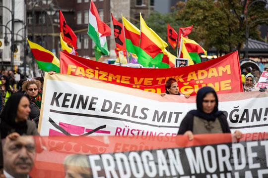 Протетси во Германија пред посетата на Ердоган