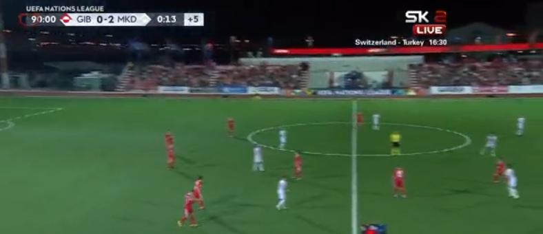 Македонија го започна патот кон ЕП: Доминатна победа на стартот против Гибралтар (ВИДЕО)