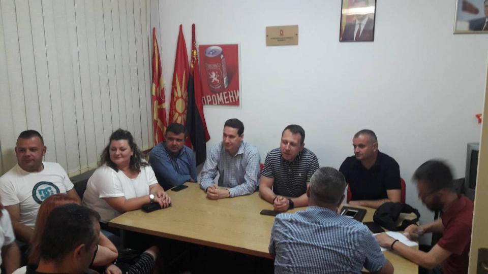 Ѓорчев во Виница: Оваа власт го разочарува народот и нема да трае долго