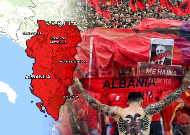 """""""Економист"""": Дали можноста за размена поттикнува идеја за голема Албанија"""