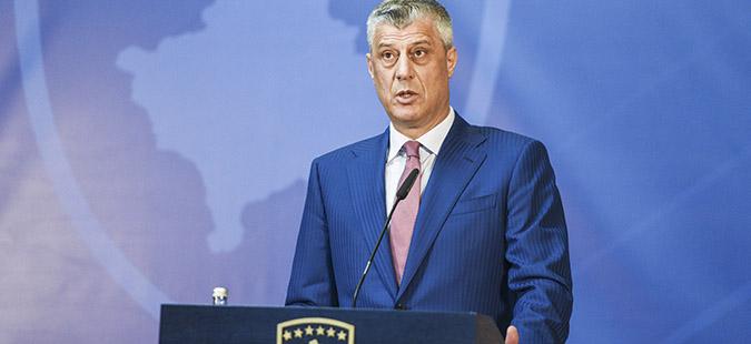 Кабинетот на Тачи информира за средбата со Грабар-Китаровиќ, но ја премолчи нејзината изјава за границите