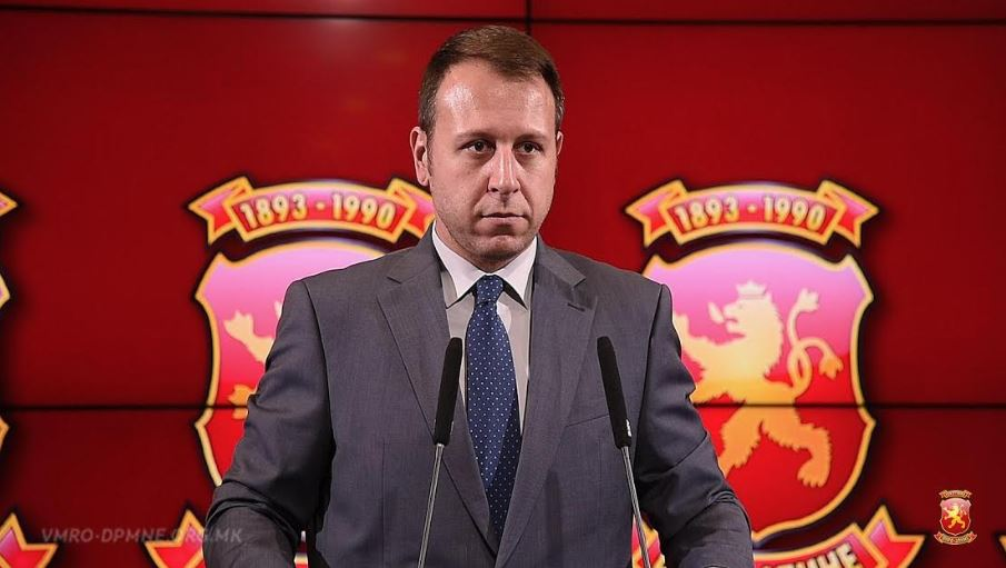 Јанушев избран за шеф на Републичкиот изборен штаб на ВМРО-ДПМНЕ за претстојните избори