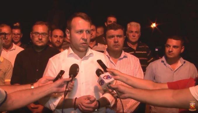 Јанушев: Се погласни се шпекулациите дека СДСМ е подготвен да се дрзне и на фалсификат на самиот референдум, се надевам дека граѓаните нема да го дозволат истото