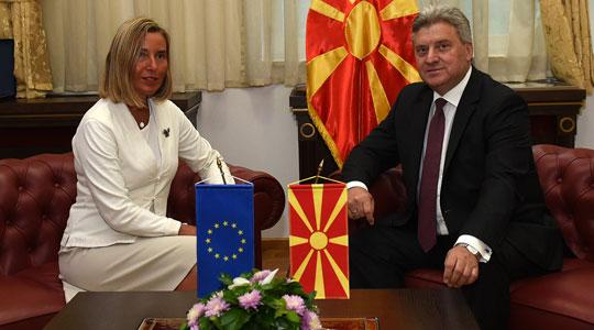 Иванов и порачал на Могерини: ЕУ и НАТО не смеат да бидат алиби за лош договор!