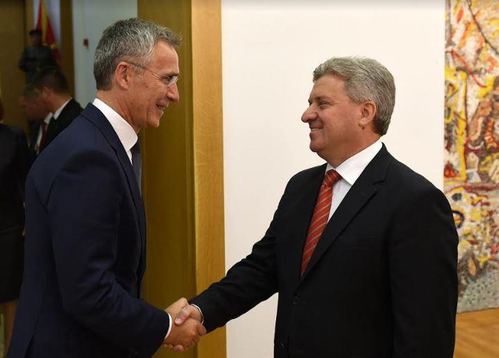 Иванов оствари средба со Столтенберг