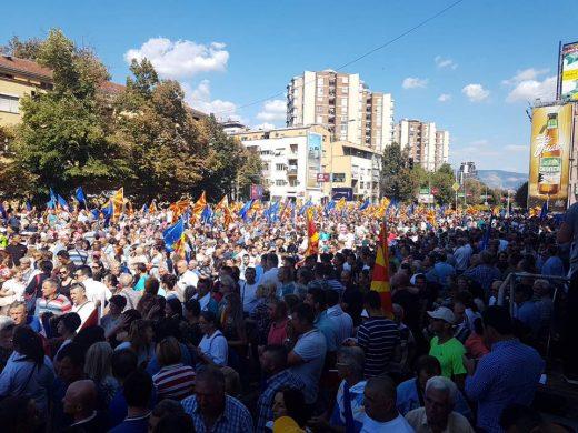 Околу 10.000 со сила донесени ЗА Северна Македонија: 4000 Македонци, 6-7000 Албанци (ФОТО)
