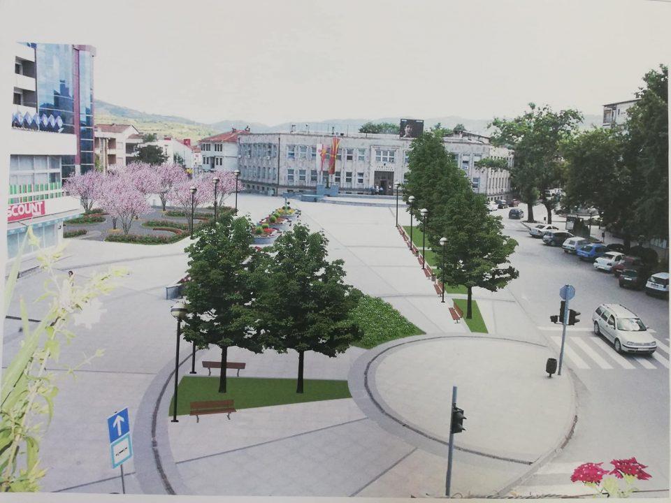 ФОТО: Кавадарци ќе добие нов реконструиран градски плоштад