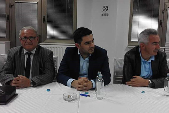 """Бектеши се обрати на собир во населбата """"Бела Кула"""" во Кичево"""