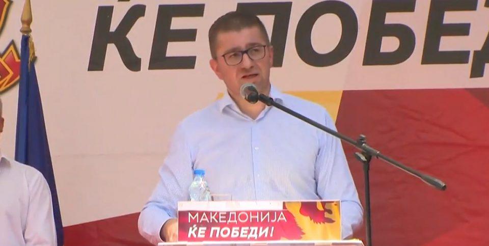 Мицкоски: Заев и власта сакаат додека ве крадат и пеплосуваат, вие да ја проголтате нивната евтина пропаганда