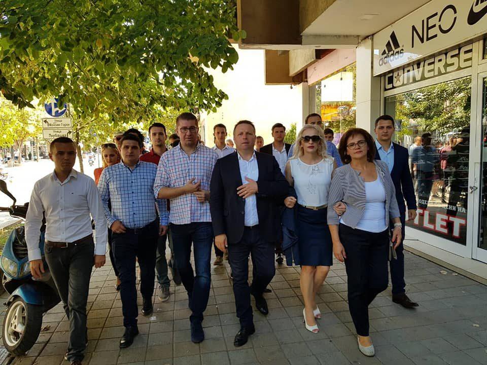 Мицкоски: Со оваа Влада нема ниту шанса, ниту иднина, на Македонија и се потребни суштински промени и реално подобрување на животот