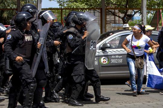 Еден убиен, петмина ранети, во антивладини протести во Никарагва